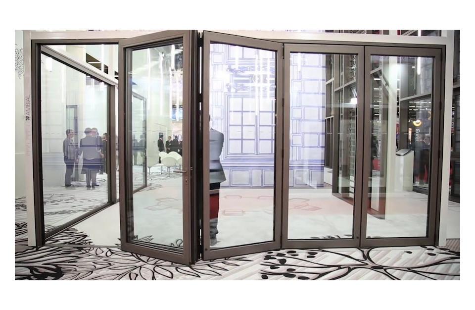Porte repliable Aluminium Technal Ambial