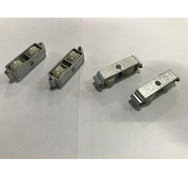T1956 Roulettes double baie coulissante Technal pièce détachée
