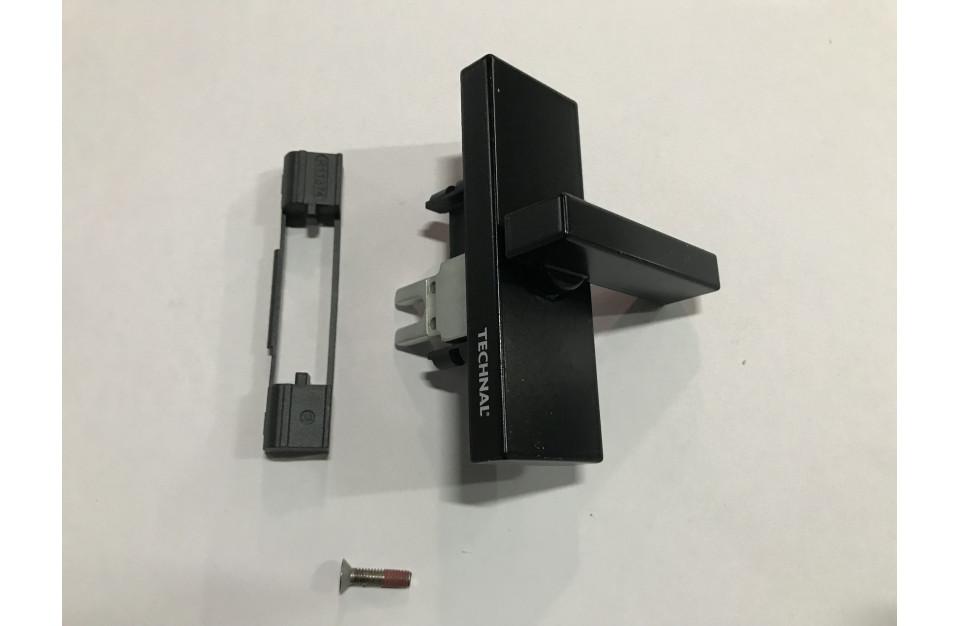 T641002N Verrou de service noir baie coulissante luméal GAM Technal pièce détachée