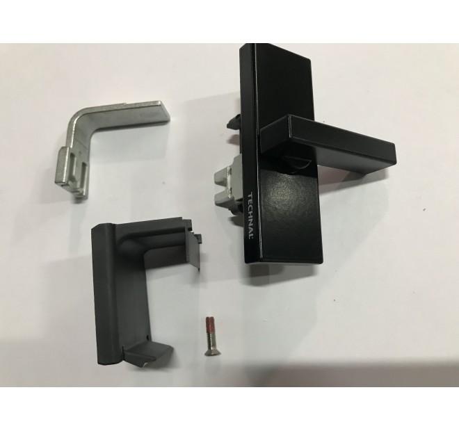 T641003N Verrou semi fixe noir baie coulissante luméal GAM Technal pièce détachée