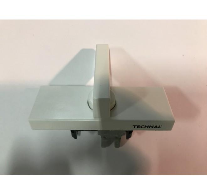 1 Verrou semi fixe blanc baie coulissante luméal GAM Technal pièce détachée