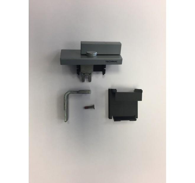 T641003AS Verrou semi fixe argent baie coulissante luméal GAM Technal pièce détachée