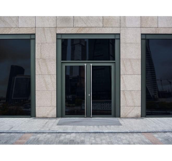 Porte d'entrée aluminium sur mesure Soleal de Technal
