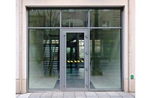 Porte d'entrée alu TECHNAL Topaze