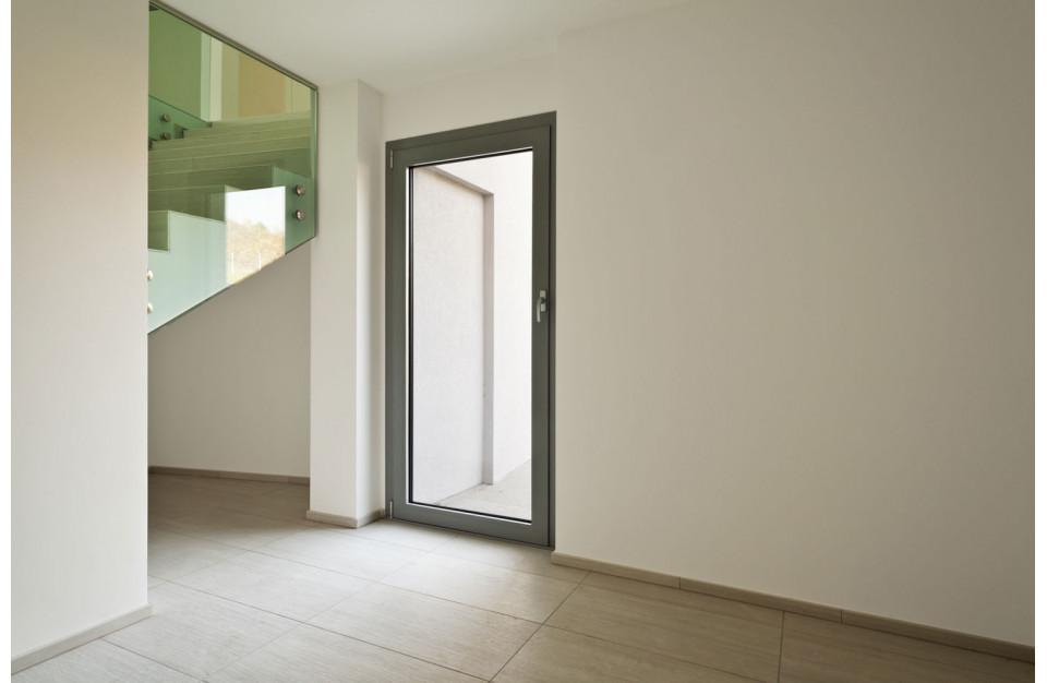 Porte d'entrée aluminium Topaze de Technal