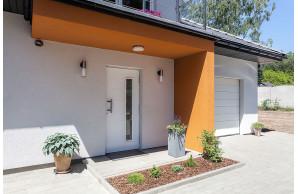 Porte d'entrée maison PVC PREFAL