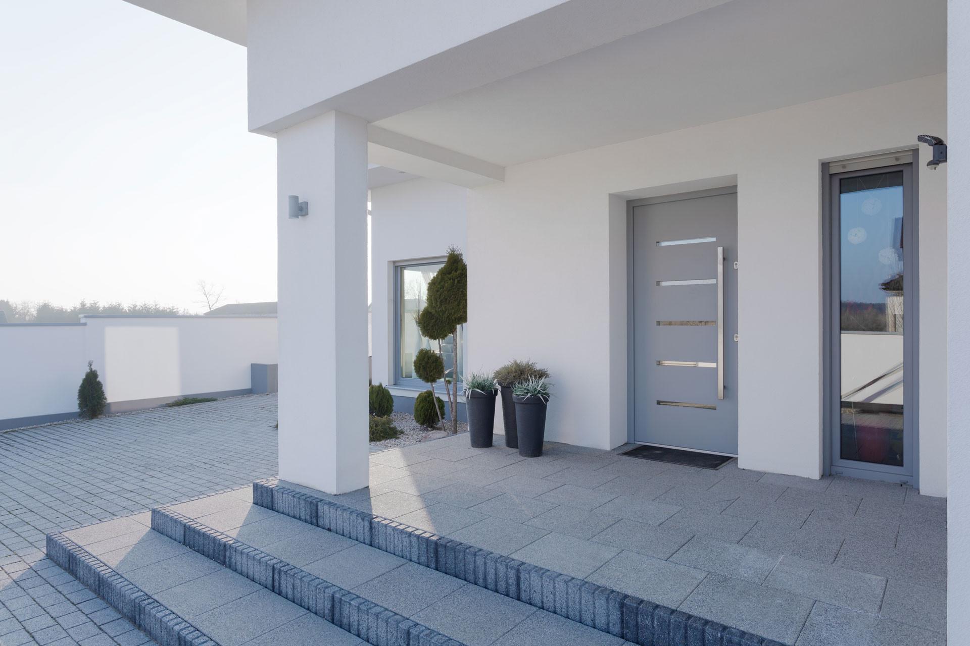 Porte  de maison PVC